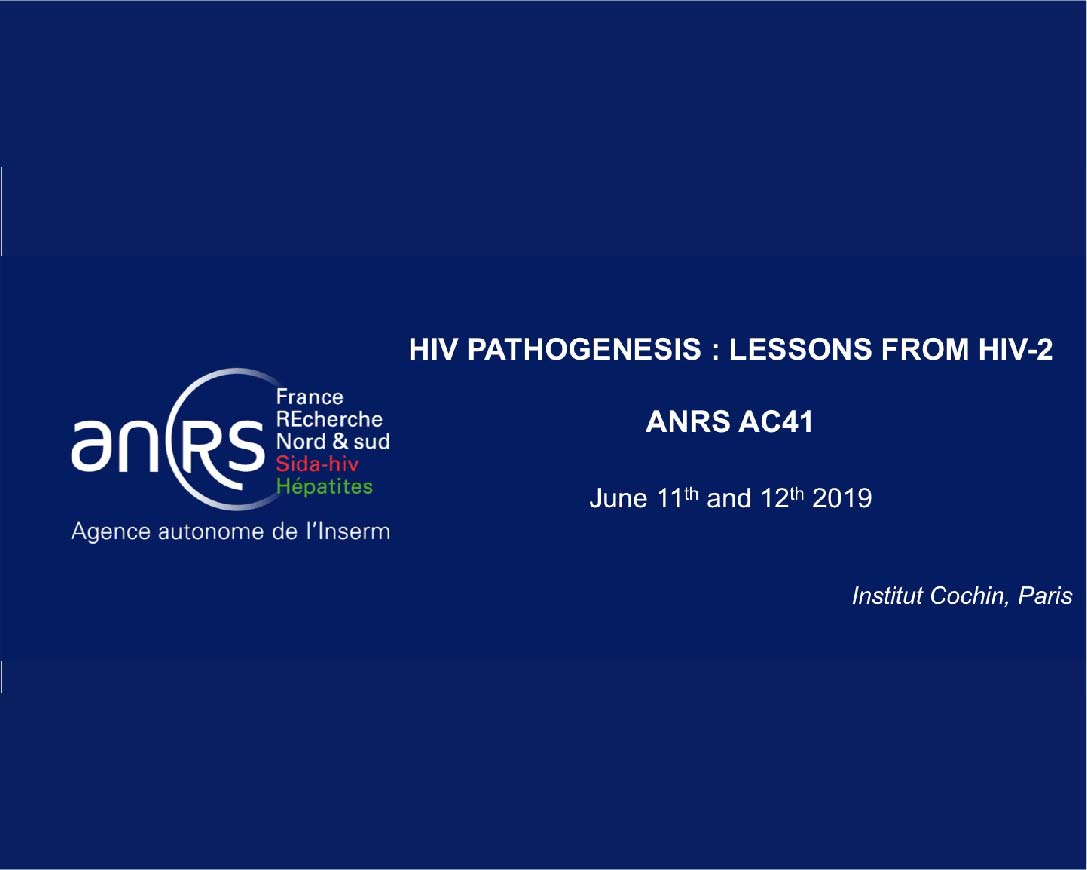 "Workshop ""HIV pathogenesis: lessons from HIV-2"""